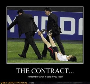 THE CONTRACT...