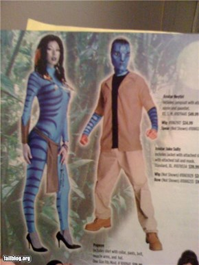 Avatar Costume FAIL