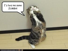I'z luvz me some ZUMBA!