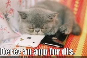 Derez an app fur dis.