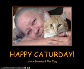 HAPPY CATURDAY!