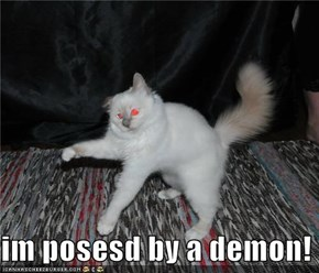 im posesd by a demon!