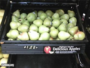 FAIL: Apples?
