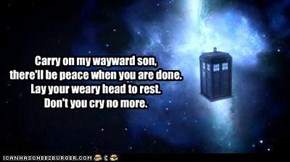 "TARDIS Radio: Kansas ""Carry On Wayward Son"""