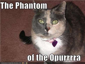 The Phantom  of the Opurrrra