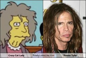 Crazy Cat Lady Totally Looks Like Steven Tyler
