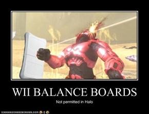 WII BALANCE BOARDS