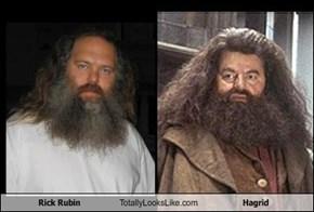 Rick Rubin Totally Looks Like Hagrid