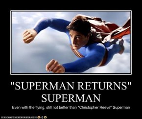 """SUPERMAN RETURNS"" SUPERMAN"