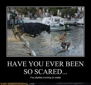 HAVE YOU EVER BEEN SO SCARED...