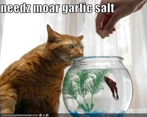 needz moar garlic salt