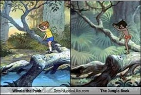Winnie the Pooh Totally Looks Like The Jungle Book
