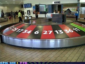 Baggage Carousel of Chance!