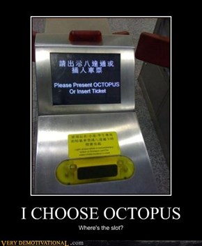 I CHOOSE OCTOPUS