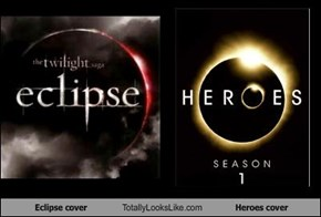 Eclipse cover Totally Looks Like Heroes cover