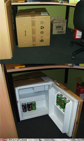 Solid Snake's Fridge