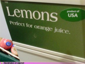 When Life Hands You Lemons, Make - Wait, What?