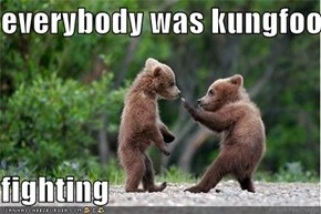 everybody was kungfoo   fighting