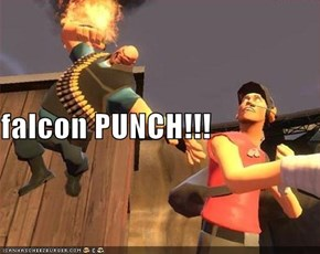 falcon PUNCH!!!