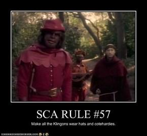 SCA RULE #57