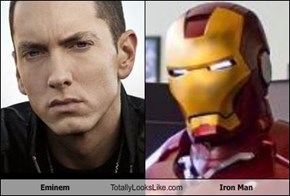 Eminem Totally Looks Like Iron Man