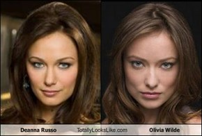 Deanna Russo Totally Looks Like Olivia Wilde