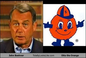 John Boehner Totally Looks Like Otto the Orange