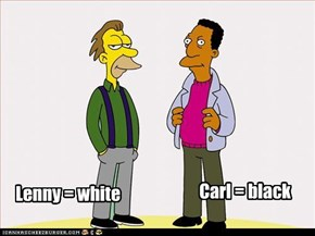 Lenny = white