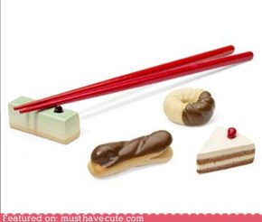 Sweet Chopsticks Rest