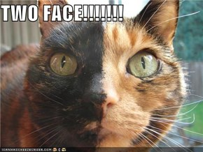 TWO FACE!!!!!!!