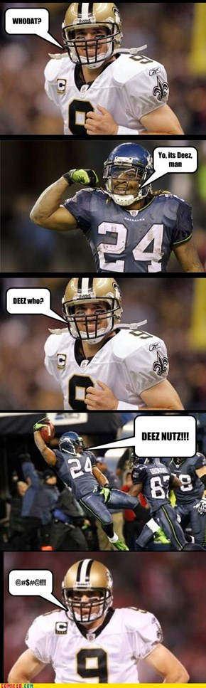 Seahawks Vs. The Saints