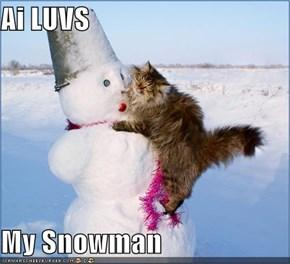 Ai LUVS  My Snowman