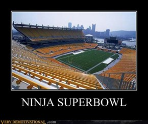 NINJA SUPERBOWL