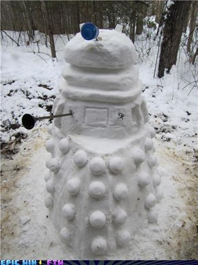 Sci Fi Saturday: Snow Dalek Will Exterminate Summer!