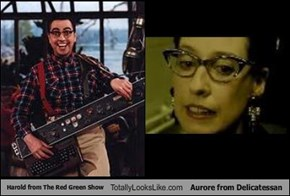 Harold from The Red Green Show Totally Looks Like Aurore from Delicatessan