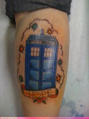 """The """"Sailor Jerry"""" TARDIS"""