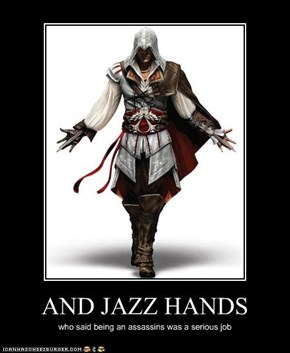 AND JAZZ HANDS