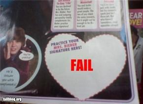 Mrs. Bieber Fail