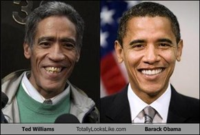 Ted Williams Totally Looks Like Barack Obama