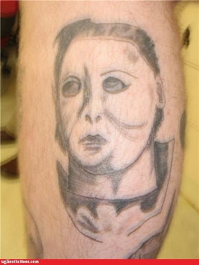Michael Myers Looks Like He Won't Admit That He Ate The Cookies