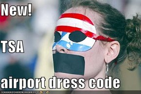 New! TSA  airport dress code