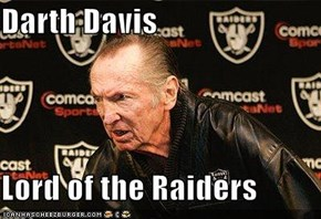 Darth Davis  Lord of the Raiders
