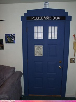 TARDIS Door: Brilliant!