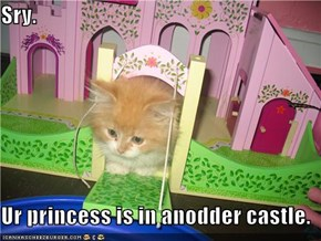 Sry.  Ur princess is in anodder castle.