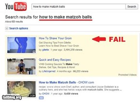 Search Results FAIL