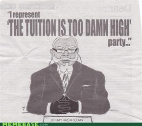 The Internet IRL: Tuition is TOO DAMN HIGH