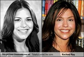 This girl from Classmates.com ad Totally Looks Like Rachael Ray