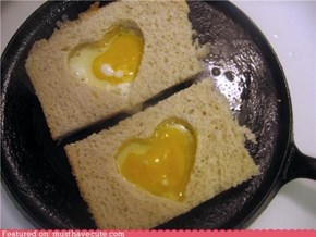 Epicute: I Love Eggs in a Basket