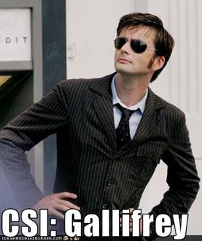 CSI: Gallifrey