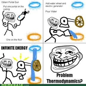 Troll Science: Thinking with Portals